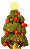 圣诞树蔬菜 库存照片