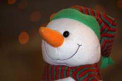 圣诞树装饰品在市场上 图库摄影