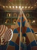 圣诞树装饰在Sigapore 库存照片