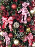 圣诞树装饰巴西 库存照片