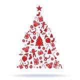 圣诞树装饰象 免版税图库摄影