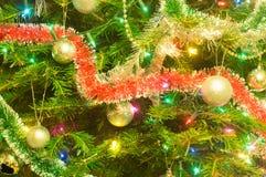 圣诞树装饰 免版税库存图片