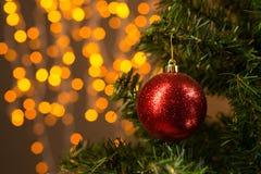 圣诞树装饰 免版税图库摄影