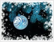 圣诞树装饰 库存照片