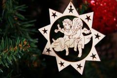 圣诞树装饰 免版税库存照片