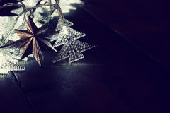 圣诞树诗歌选光的抽象图象 库存图片