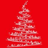 圣诞树象 向量例证