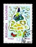 圣诞树, serie,大约1997年 免版税图库摄影