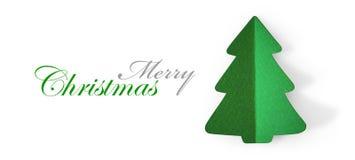 圣诞树绿色 免版税库存图片