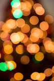 圣诞树Bokeh 免版税图库摄影