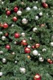 圣诞树loseup 免版税库存照片