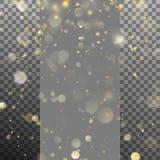 圣诞灯被弄脏的bokeh  EPS 10向量 库存图片