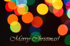 从圣诞灯诗歌选的背景 免版税库存照片