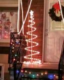 圣诞灯 免版税库存图片