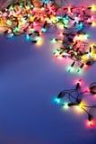 圣诞灯 免版税库存照片