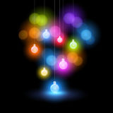 圣诞灯 库存图片