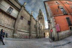 圣诞老人伊格莱西亚卡特德拉尔Primada de托莱多,西班牙 免版税库存图片
