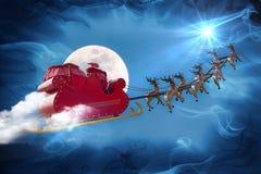 圣诞老人传奇 免版税库存图片