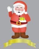 圣诞老人传染媒介  免版税库存图片