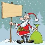 圣诞老人例证-例证 图库摄影