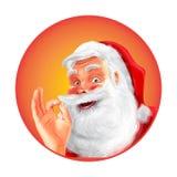 圣诞老人保险费质量 库存图片