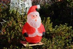 圣诞老人充塞了 免版税图库摄影