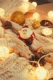 圣诞老人克劳斯圣诞节玩具  免版税图库摄影