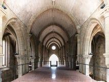 圣诞老人克拉拉Velha,科英布拉,葡萄牙修道院  库存图片