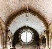 圣诞老人克拉拉Velha,科英布拉,葡萄牙修道院  图库摄影