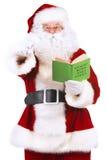 圣诞老人冬天 库存照片