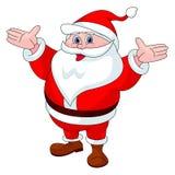 圣诞老人动画片 图库摄影