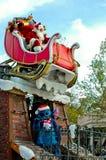 圣诞老人和针 免版税库存图片