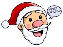 圣诞老人圣诞快乐 库存例证