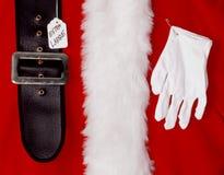 圣诞老人圣诞节衣服 库存图片