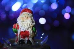 圣诞老人圣诞节装饰 免版税库存图片