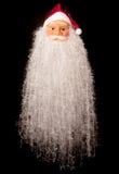 圣诞老人大胡子 免版税库存图片