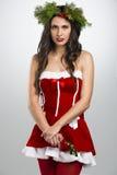 圣诞老人妇女 图库摄影