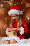 圣诞老人小姐 免版税库存照片