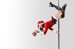 圣诞老人帮手 免版税库存照片
