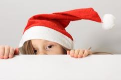圣诞老人帽子 免版税库存图片