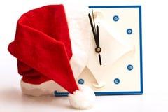 圣诞老人帽子 免版税库存照片