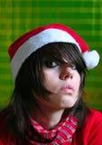 圣诞老人年轻人 库存图片