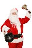 圣诞老人志愿者 库存图片