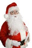 圣诞老人惊奇了 库存照片
