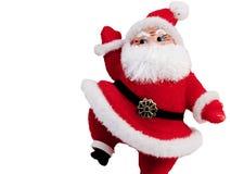 圣诞老人提高 免版税图库摄影