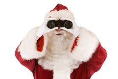 圣诞老人搜索 免版税图库摄影