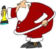 圣诞老人搜索 库存例证