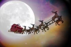 圣诞老人是美妙的! 库存图片
