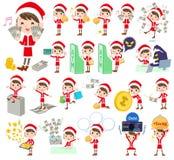 圣诞老人服装mom_money 库存照片