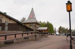 圣诞老人村庄,北极圈 免版税库存照片